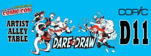 Dare2Draw at NYCC, 2013 by Dare2Draw