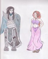 King Gan and Queen Alassiel - Collaboration by Zaltheran