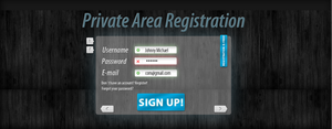 PRIVATE AREA REGISTRATION by SET07