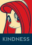 Fluttershy Kindness (pop art OBEY style) by xx1simon1xx