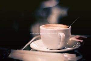 a cup of coffee by Blurry-Photography