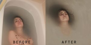 Before and After of Wishbone by eringraboski