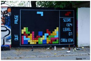 TETRIS WALL by AMON-1
