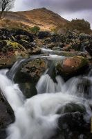 Rapids Below Ger Tor II by Alex37