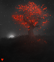 Tree of Red by MintyMintfire