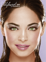 Kristin Kreuk Colorization by wildflower4etrnty