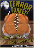 Uni Project - Terror Turkey Character Poster by SalmirAeon
