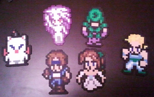 Final Fantasy 6 Sprites...Again! by DuctileCreations