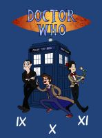 Doctor Who Time by FinalChara