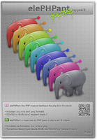 elePHPant - in colors by pok3