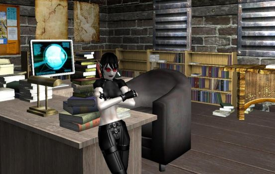Sally's Office by Goblynoid