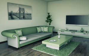 Living room olive PS by slographic