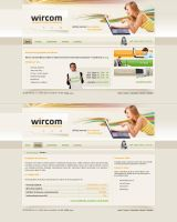 Internet provider website by luqa