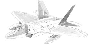 F-22 study by fighterace2688
