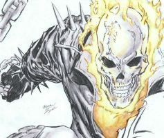 Ghost Rider by MichaelWarrenTaylor