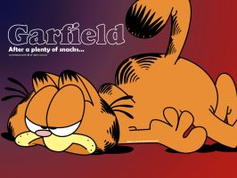 Garfield by x-camila