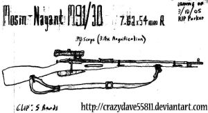 Mosin-Nagant M91-30 by CrazyDave55811