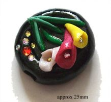 Polymer Clay Beads 48 by snowskin