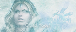 DOTA 2 - Crystal Maiden Signature by sweet5050