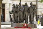 tank regiment statue london by hanimal60