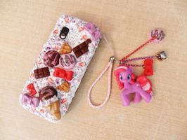 FizzyPop CandyShop Cell Phone Decoden by NamineEveningLight