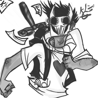 Zacharie Doodle by Arcad3Fire
