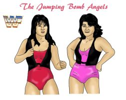 The Jumping Bomb Angels by Blank-mange