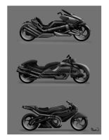 Motorcycle Concepts by calebcleveland