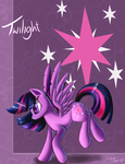 Twilight Sparkley by AC-whiteraven
