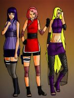 Naruto the Last: Girls by yoriataki159