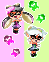 Little Squid Sisters by thepoecatcher