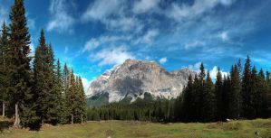 alps panorama by ThorBet