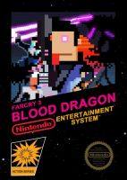 FC3 blood dragon NES box cover by JoeyV104