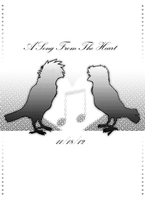 A Song From the Heart Inside Cover by KasaraWolf