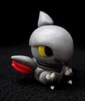 Skarmory Pokedoll Sculpture by caffwin