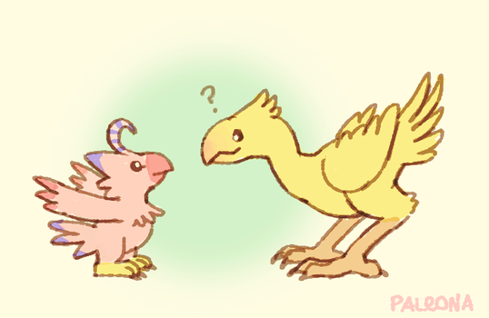 are you a chocobo? by Paleona