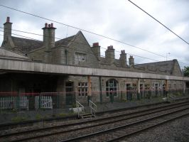 View of Carnforth Station Building from Platforms by rlkitterman