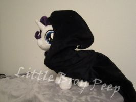mlp Filly Rarity With Amulet Cloak by Little-Broy-Peep