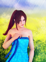 RE: Claire Redfield/Rosebud among wild flowers by Sia-G