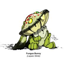 The Fungus Bunny by Scifer
