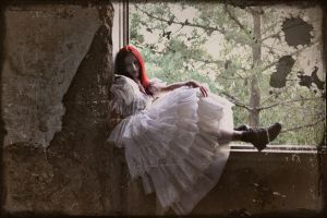 Her White Ghost I by SusanaDS-Stocks