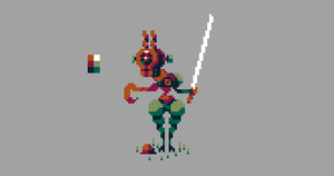 Quick pixel doodle by Cellusious