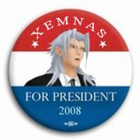Xemnas Campaign Button by Xrig
