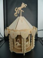 Wooden Carousel1 by Stock-Karr