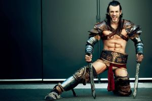 Gannicus from JapanExpo 2014 Cosplay by Leon Chiro by LeonChiroCosplayArt