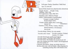 Facts about Dackey by AndkeAnka