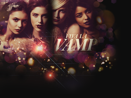 Vampire Diaries's Beauties by creature-in-night