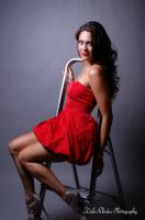 Lady in Red by DalePhotography