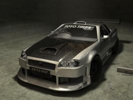 Nissan Skyline GTR-34 by sevenmelons83