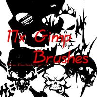 Free Gimp Brushes by CindaLawrencers